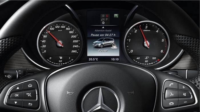Hệ thống Attention Assist xe Mercedes